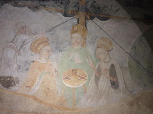 Tarot Fresco in Castello di Masnago of Varase