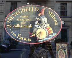 Osvaldo's shop sign