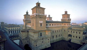 Estense Castle in Ferarra