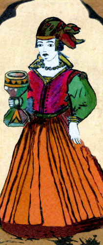 Tarocchi Fine Dalla Torre of Bologna, 17th Century