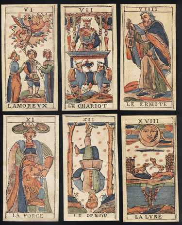 Tarocco di 78 Carte Bologna Meta XVIII Sec., Tarot of ...